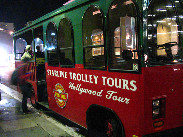 We board the Trolley of Death!