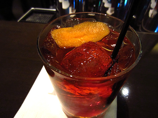 The Negroni, one of three Classici on Drago Centro's spring menu.