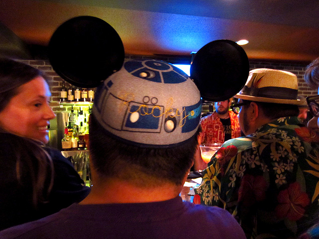 Rocky Yeh with Star Tours / Mickey Mouse Ears