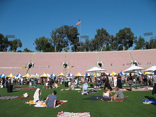 Rose Bowl Field - 2010 Summer Tasting Event