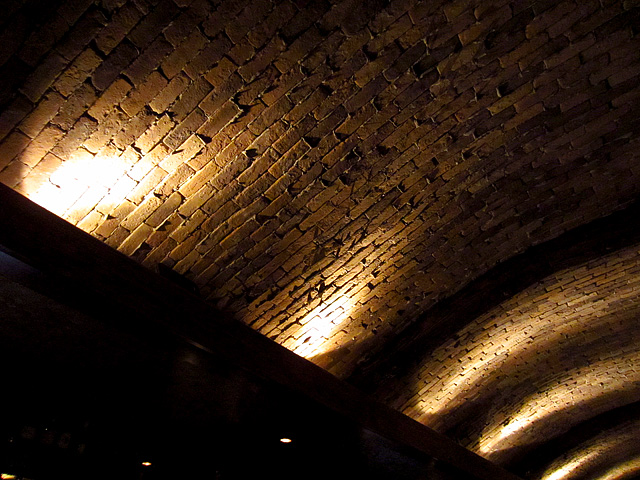 Barrel Vault Brick Ceiling