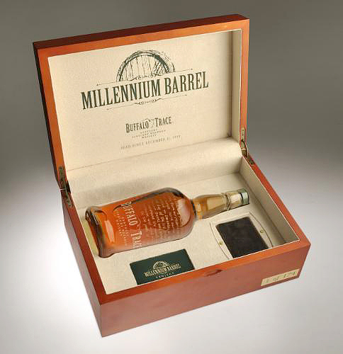 Buffalo Trace Millennium Barrel Box