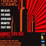 LA Craft Beer Crawl Flyer
