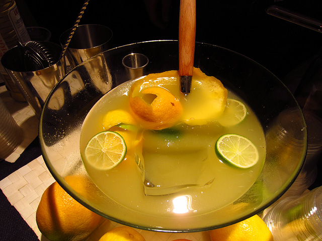 Pisco Punch Bowl