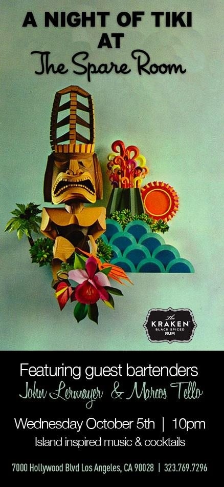 A Night of Tiki at The Spare Room