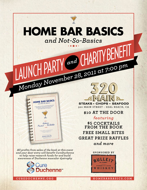 Home Bar Basics Launch Flyer