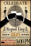 Cole&#039;s Repeal Day 2011 Flyer