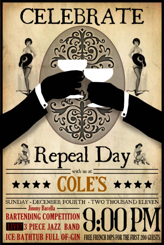 Cole's Repeal Day 2011