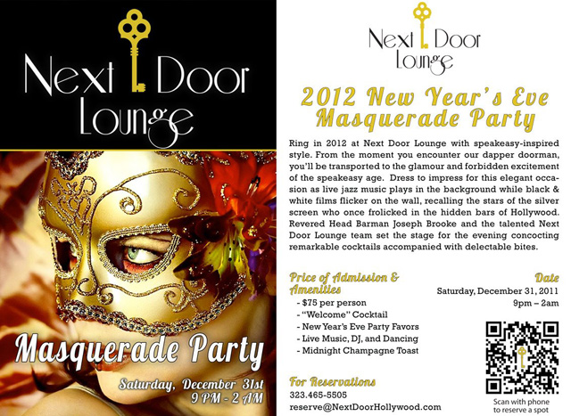 Next Door Lounge NYE 2011