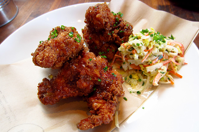 Truffle Honey-Laced Fried Chicken