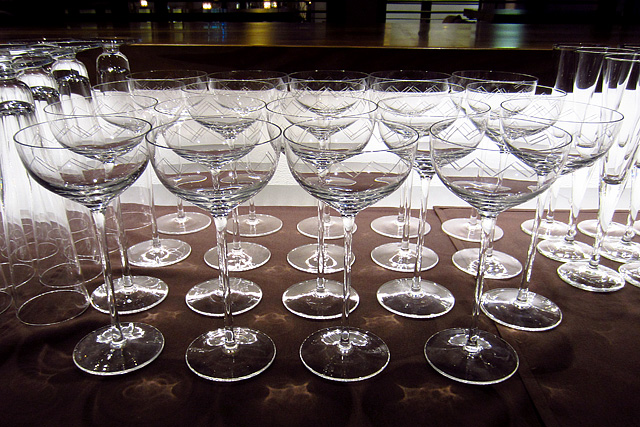 Glassware by Salvatore Calabrese