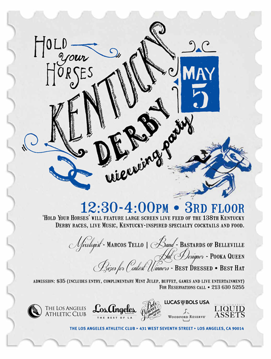 Hold Your Horses: Kentucky Derby at LAAC