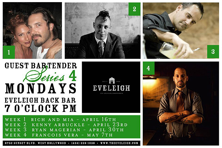Eveleigh Guest Bartender Series 4