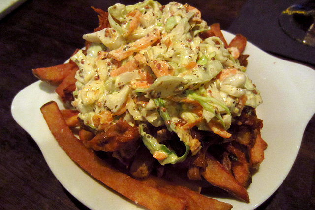 BBQ Pulled Pork Fries - Bar and Kitchen