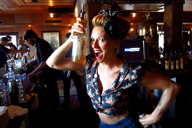 Mia Sarazen & Sailor Jerry - Art Beyond the Glass
