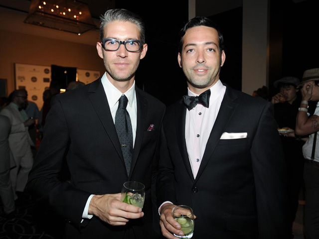 Steve Livigni & Pablo Moix - 2012 Tales of the Cocktail Spirited Awards