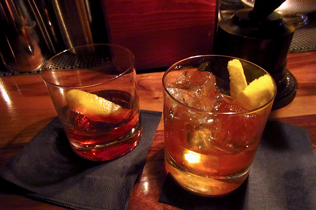 Sazerac & Old Fashioned - Seven Grand San Diego