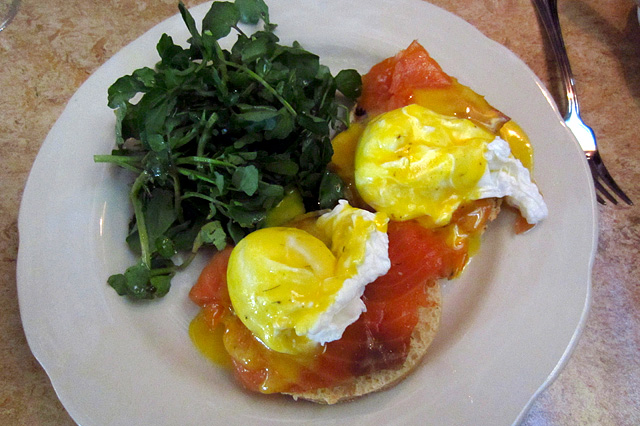 Tom Bergin's Smoked Salmon and Eggs