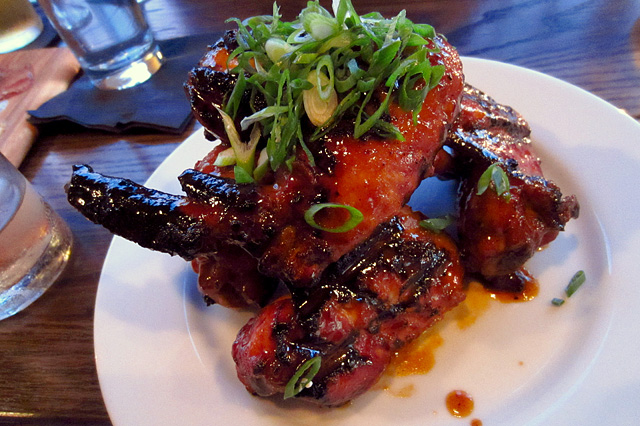 Cider glazed wings - The Corner Door