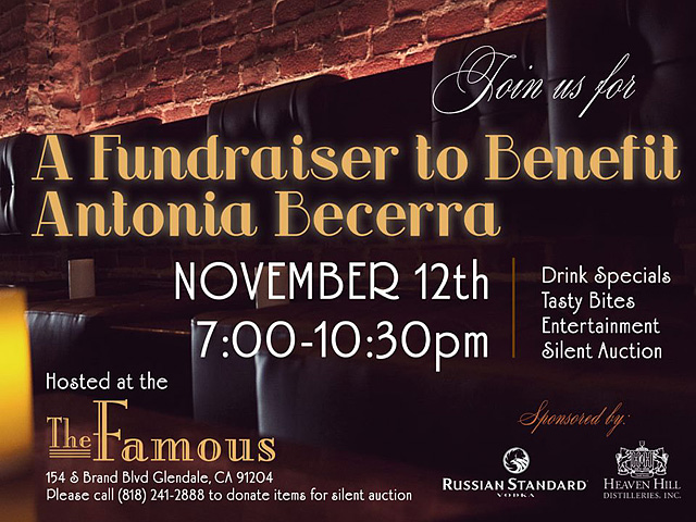 Fundraiser for Antonia Becerra at The Famous