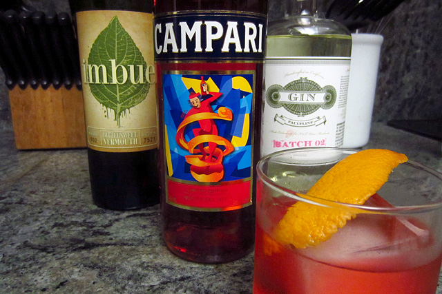 Negroni with St. George Faultline Gin
