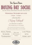 Boxing Day Social 2012