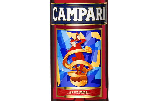 Campari 2012 Limited Edition Art Label