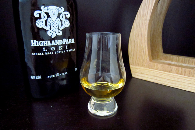 A dram of Highland Park Loki
