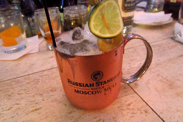 Moscow Mule at Barrel Aged