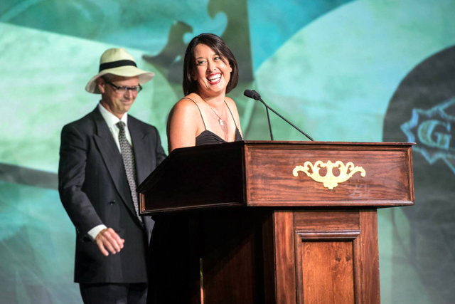 Julie Reiner at the 2013 Spirited Awards