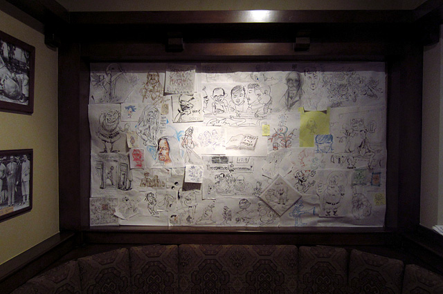 Animators' Booth at Story Tavern