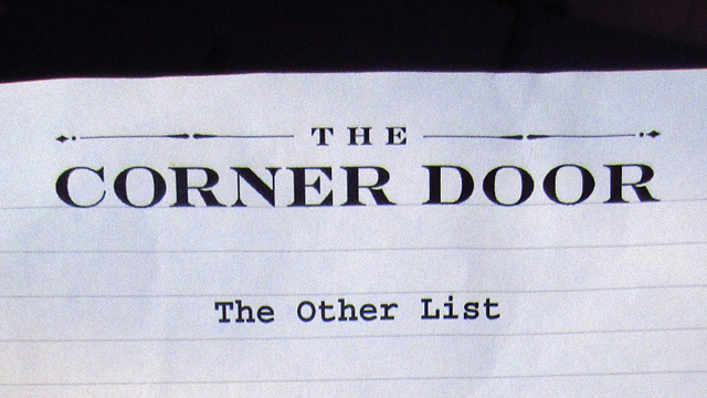 The Other List at The Corner List