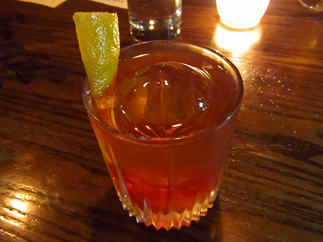 Dad's Old Fashioned at The Corner Door