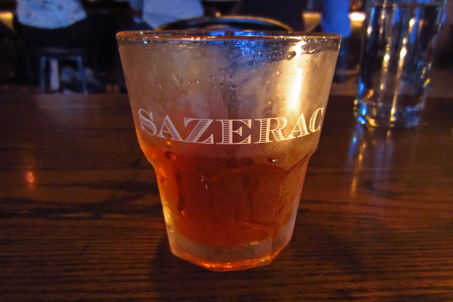 OG Sazerac at The Corner Door