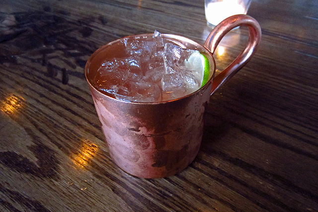Moscow Mule on tap at The Corner Door