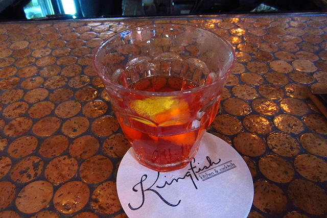 Sazerac at Kingfish