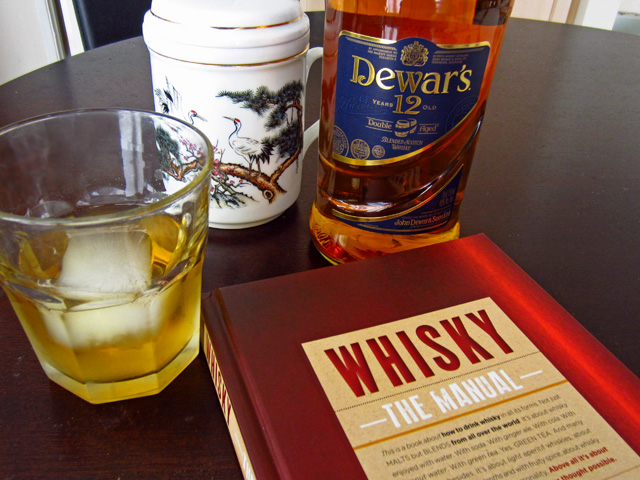 "Dewar's 12 with green tea, from ""Whisky: The Manual"""