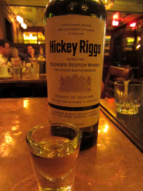 Hickey Riggs blended Scotch, c. 1968