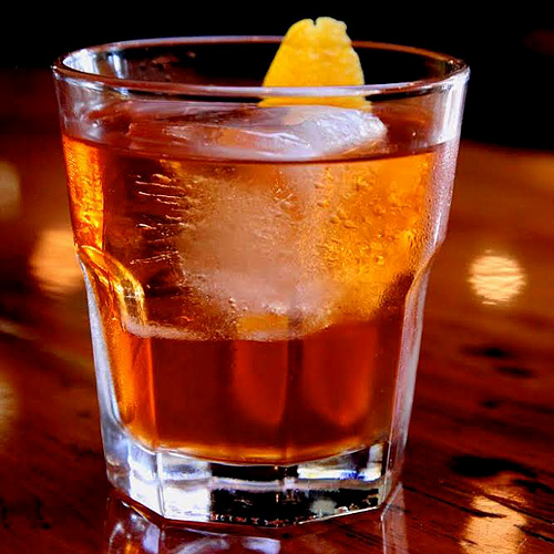 Buchanan's Old Fashioned at