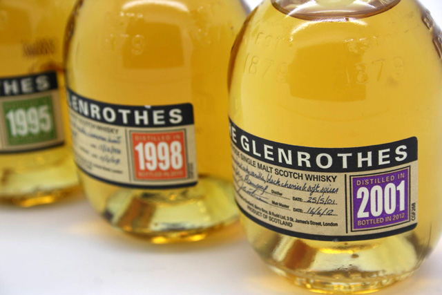 The Glenrothes Core Vintages