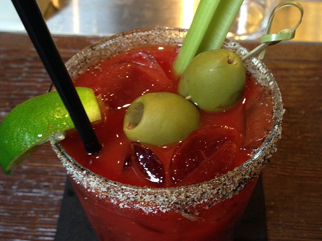 Bloody Mary at Granville Cafe Studio City