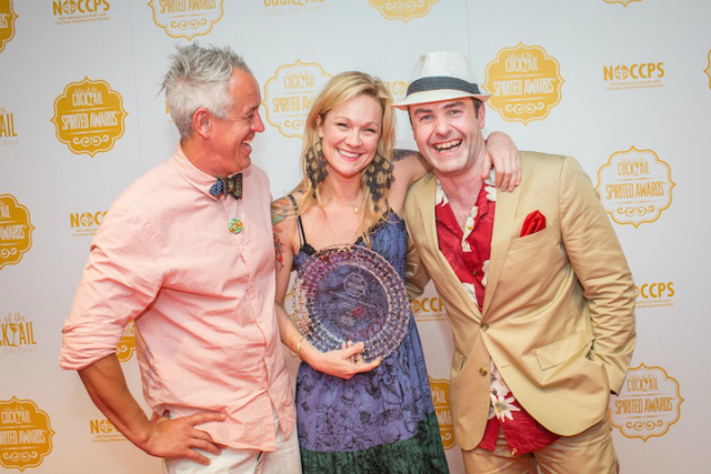 Brooke Arthur named Best American Brand Ambassador at the 9th Annual Spirited Awards