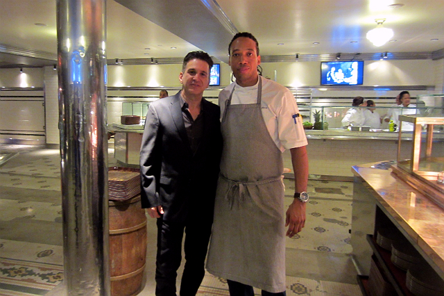 Clifton's owner Andrew Meieran and Executive Chef Jason Fullilove