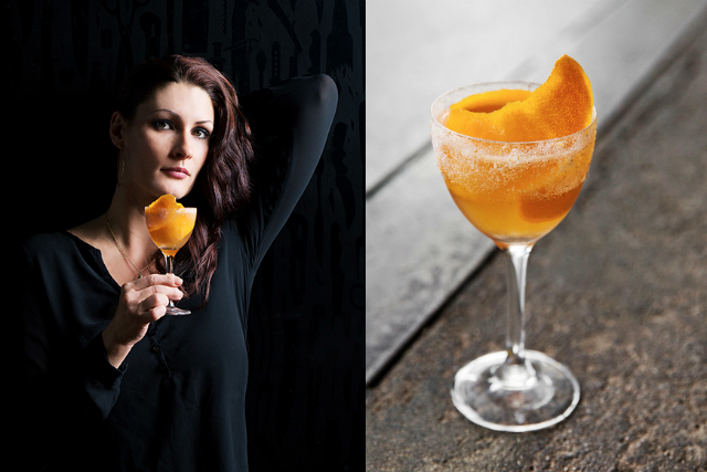 Kristina Howald at Bestia for Imbibe Magazine