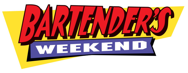Logo for Bartender's Weekend 2019 by Wexler of California