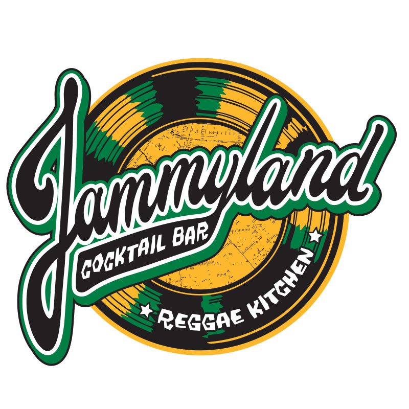 Logo for Jammyland in Las Vegas by Wexler of California