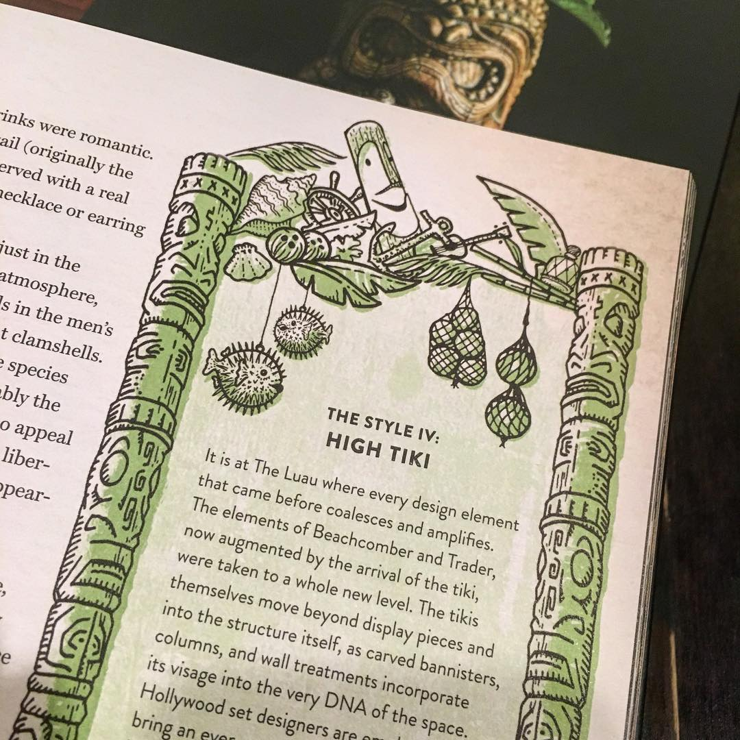 Sidebar frame from the Smuggler's Cove cocktail book