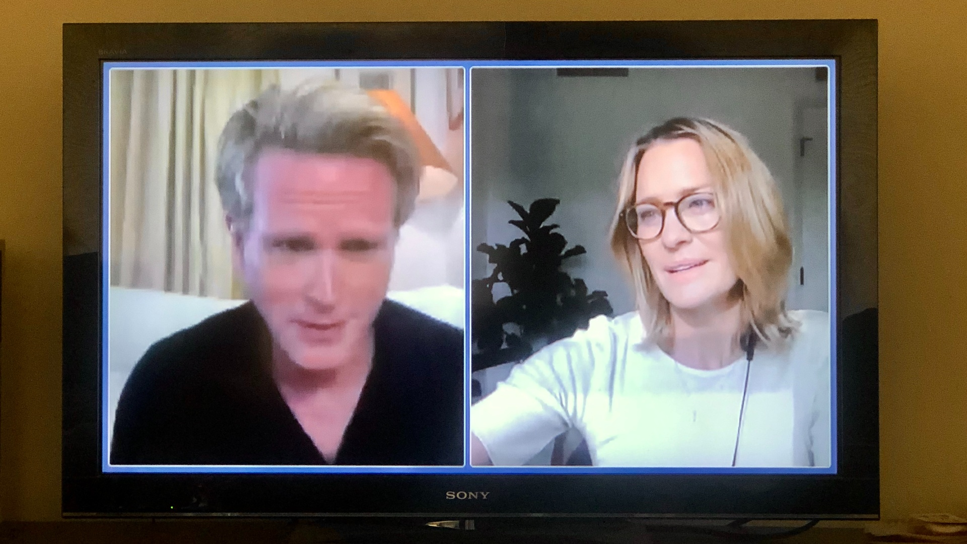 "Cary Elwes and Robin Wright in ""The Princess Bride"" Reunion"